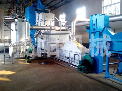 热法再生生产线 燃料 煤